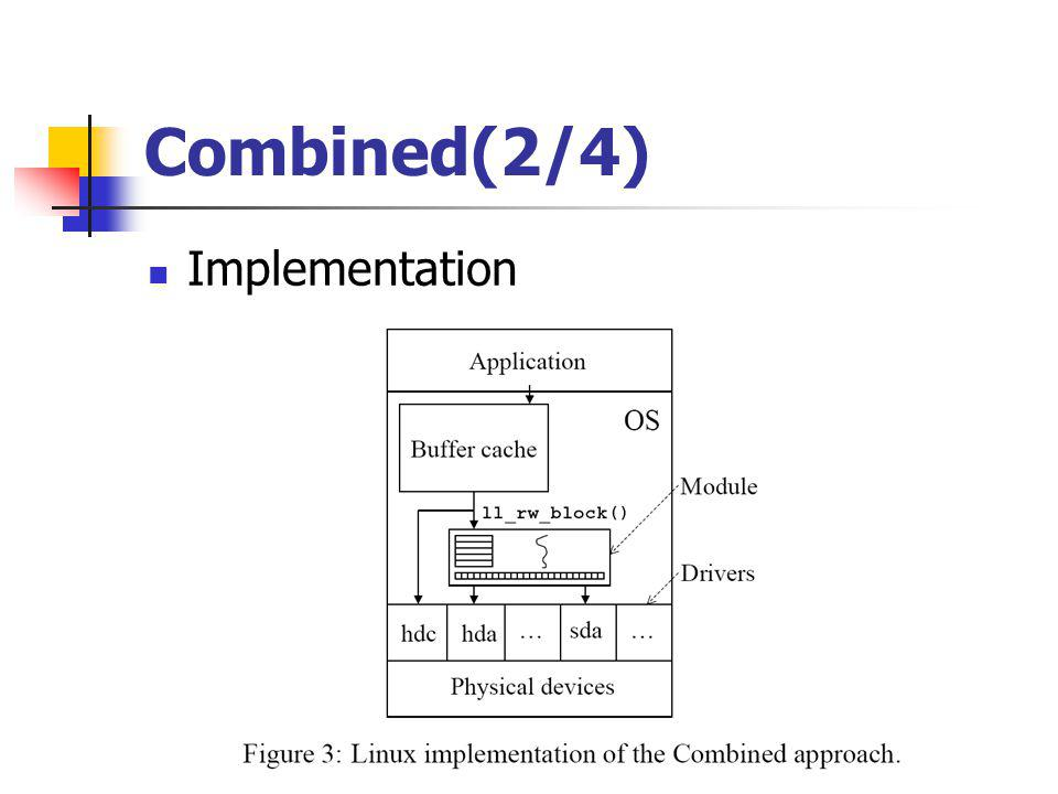 Combined(2/4) Implementation