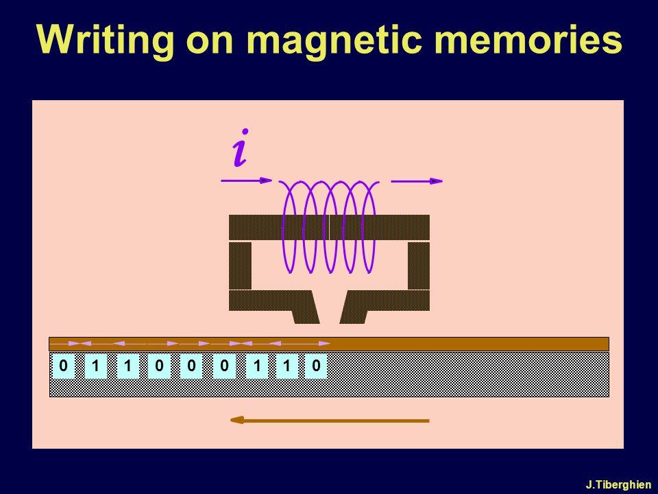 J.Tiberghien Writing on magnetic memories i 000001111