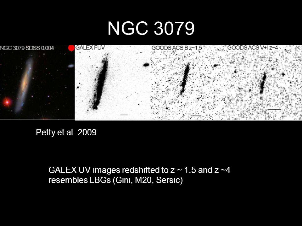 NGC 3079 Petty et al.