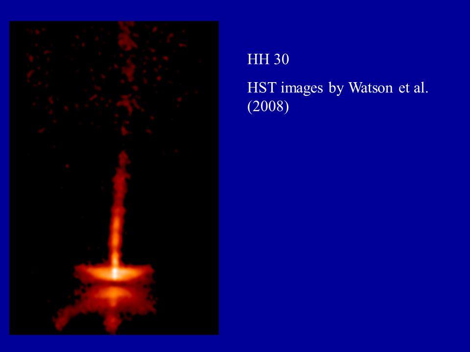 HH 30 HST images by Watson et al. (2008)
