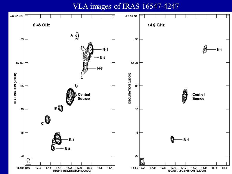 VLA images of IRAS 16547-4247