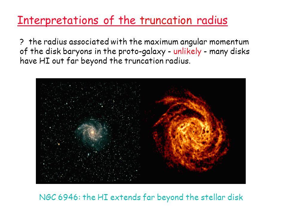 Corbelli et al 1989 M33 HI distribution Outer contour 2 x 10 19 cm -2 star count limit