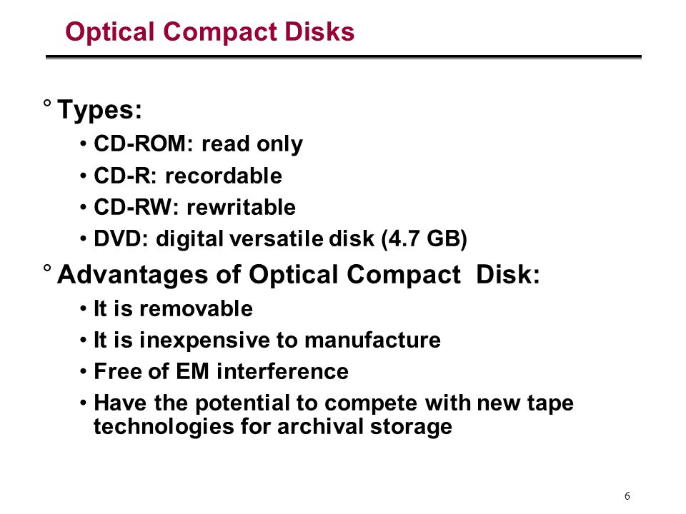 17 Replace Small Number of Large Disks with Large Number of Small Disks.