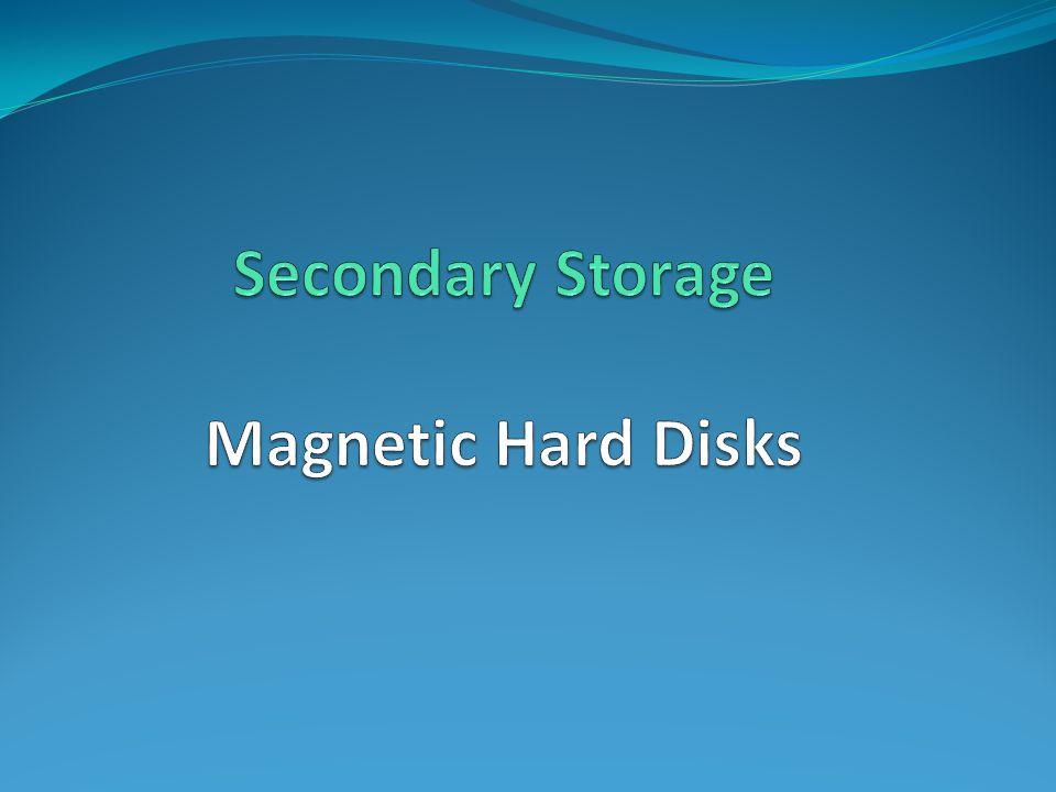 Magnetic Hard Disks CENG 222 - Spring 2012-2013 Dr.