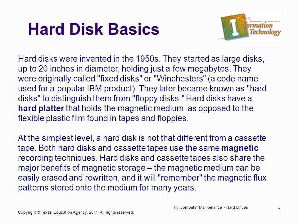 IT: Computer Maintenance - Hard Drives34 Fragmented vs.