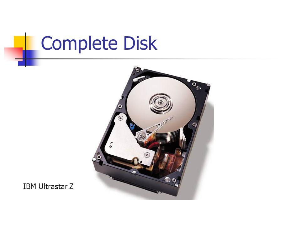 Complete Disk IBM Ultrastar Z