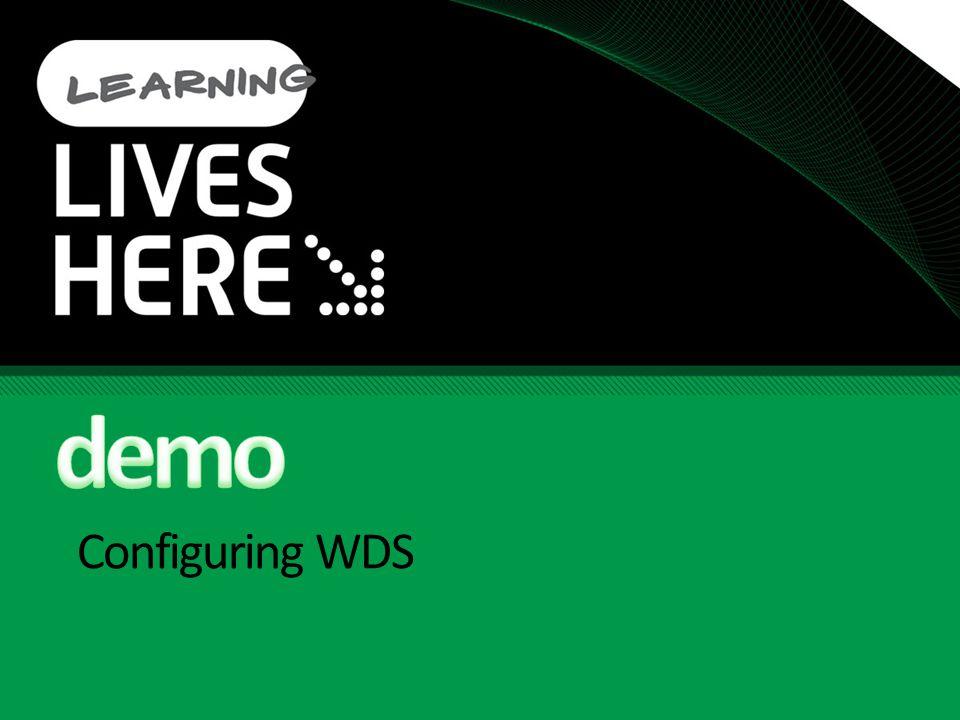 Configuring WDS