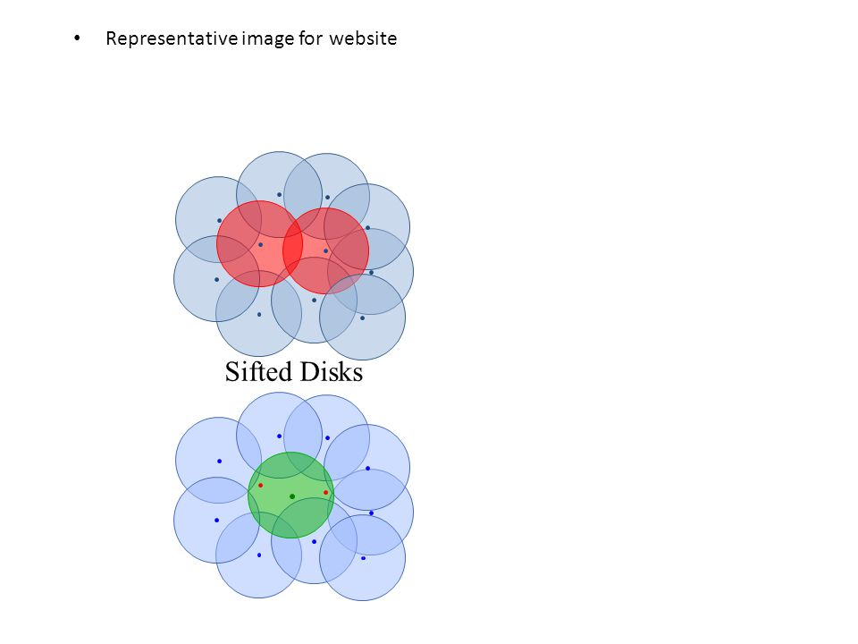 Representative image for website Sifted Disks