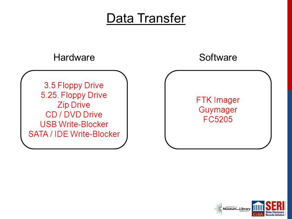 Data Transfer 3.5 Floppy Drive 5.25.