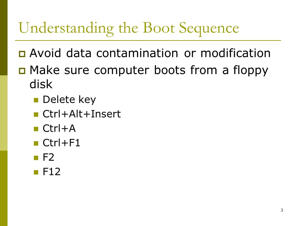 BIS@DSU 4 Understanding the Boot Sequence (Cont.) Who provides this setup screen for you?