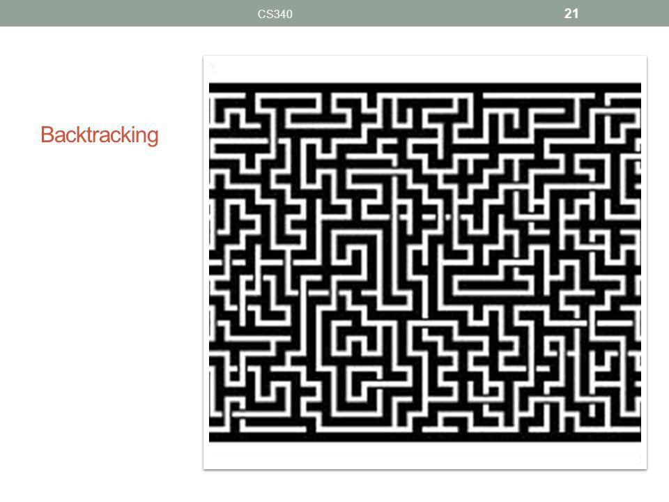 Backtracking CS340 21