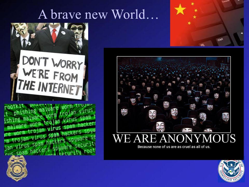 A brave new World…