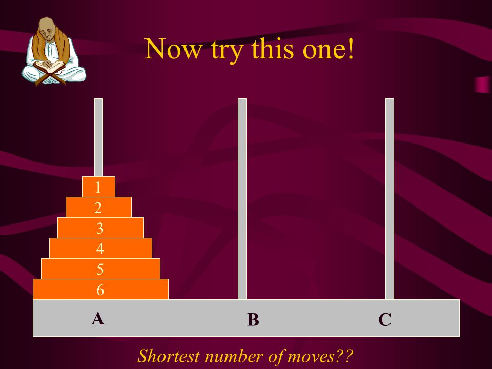 And this one ABC 2 1 3 4 5 Shortest number of moves??