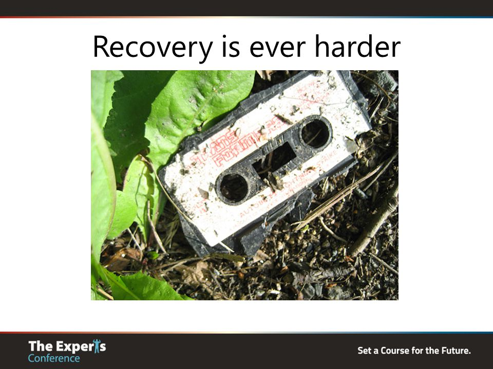 Recovery is ever harder
