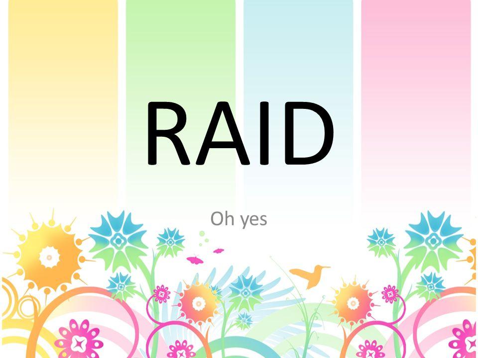 RAID Oh yes