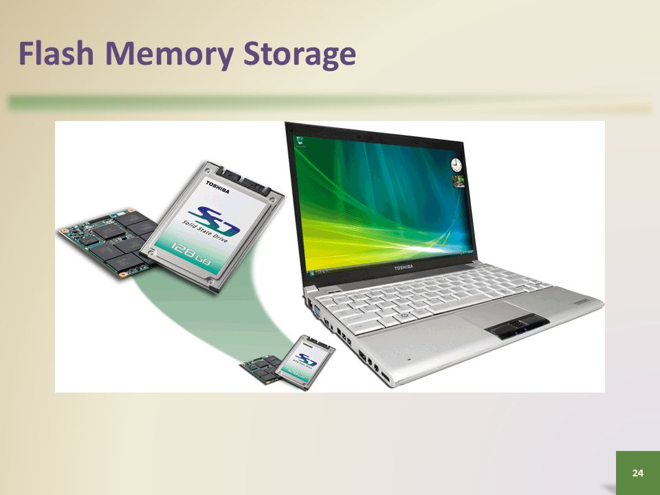 Flash Memory Storage 24