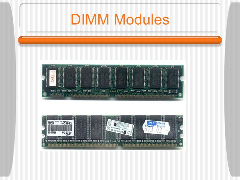 DIMM Modules