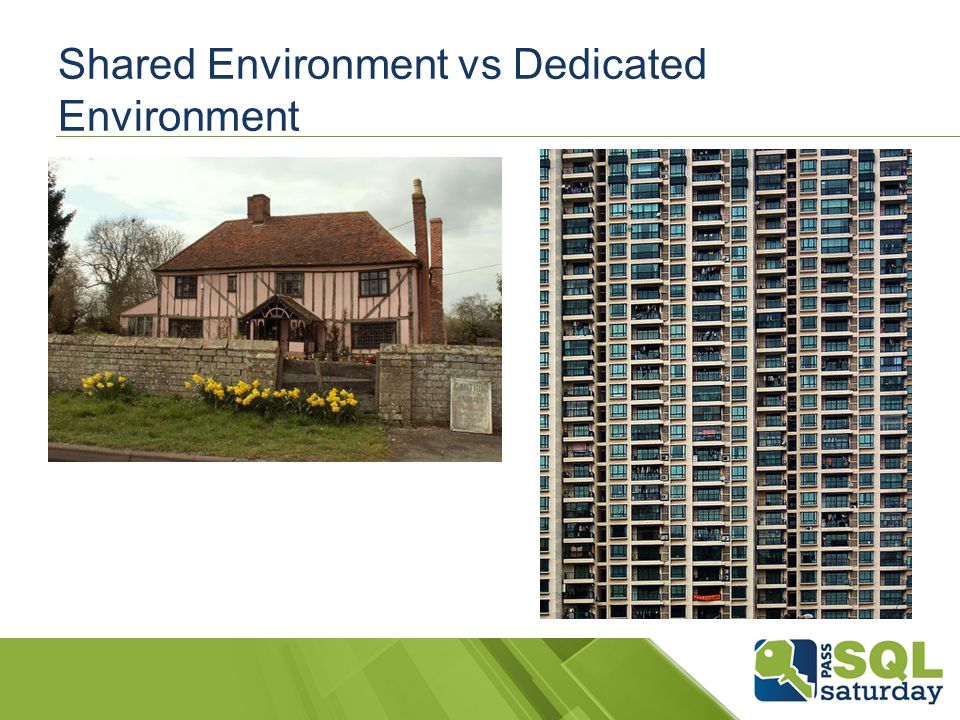 Shared Environment vs Dedicated Environment