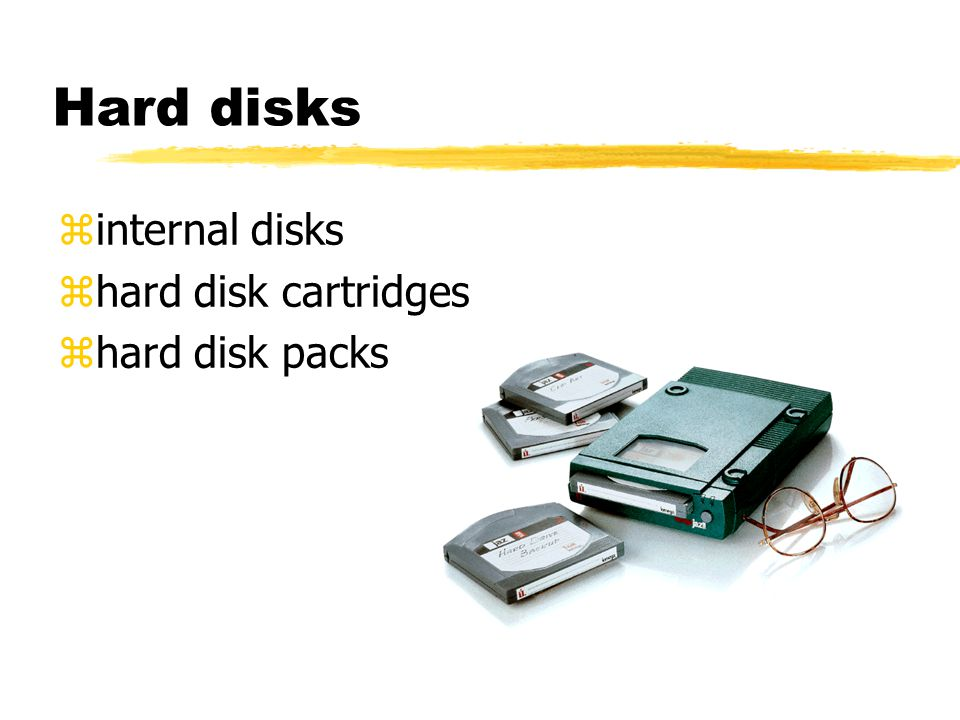 Hard disks zinternal disks zhard disk cartridges zhard disk packs