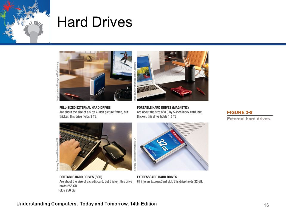 Hard Drives Understanding Computers: Today and Tomorrow, 14th Edition 16