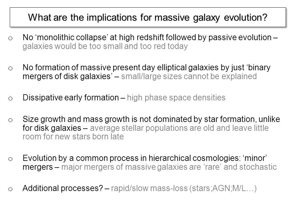 Central dark matter fractions The average central dark matter fractions agree with estimates from lensing and dynamical modeling - see SLACS Barnabe et al.