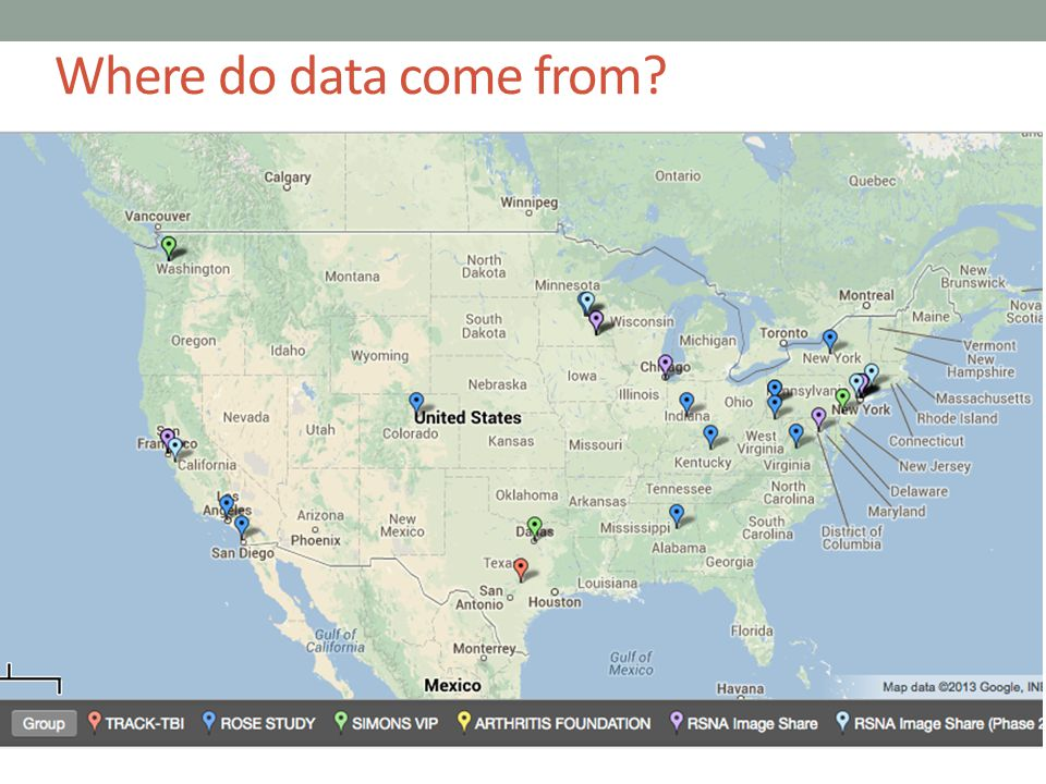 Where do data come from?