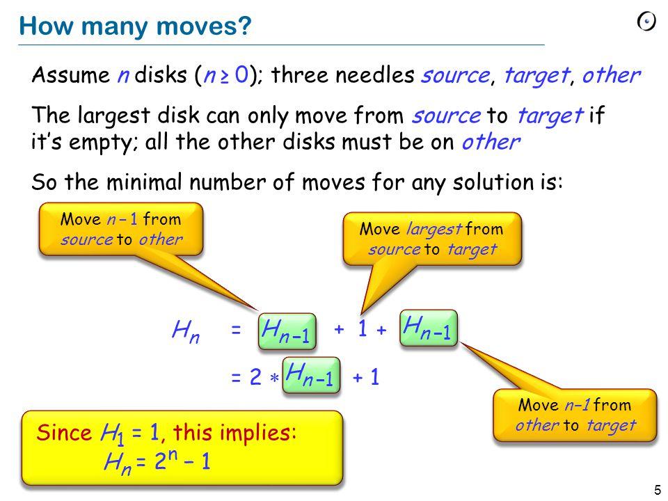 5 How many moves.