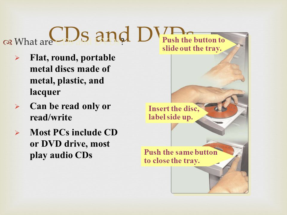 CDs and DVDs How does a laser read data on a CD or DVD.