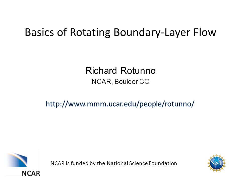 Behavior of near frictional boundary depends on Similarity solutions exist Solid-body rotation Potential vortex Rott and Lewellen (1966 Prog Aero Sci) 2.