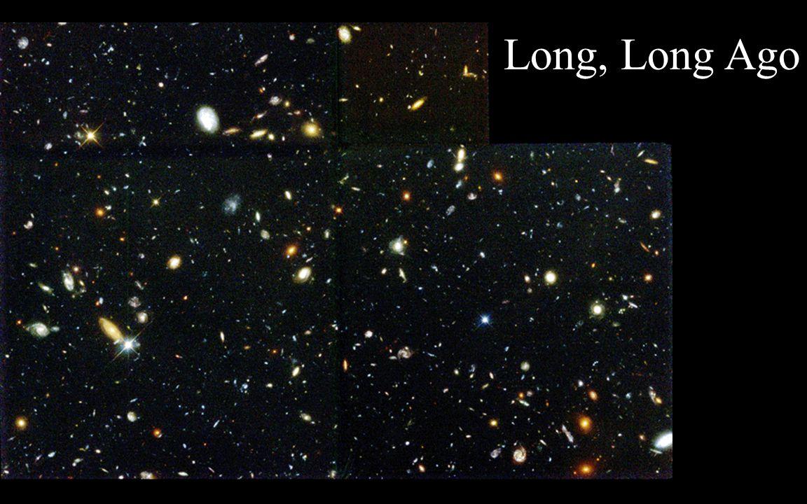 Galaxies Long Ago