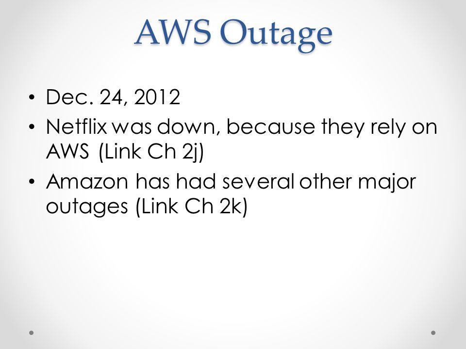 AWS Outage Dec.