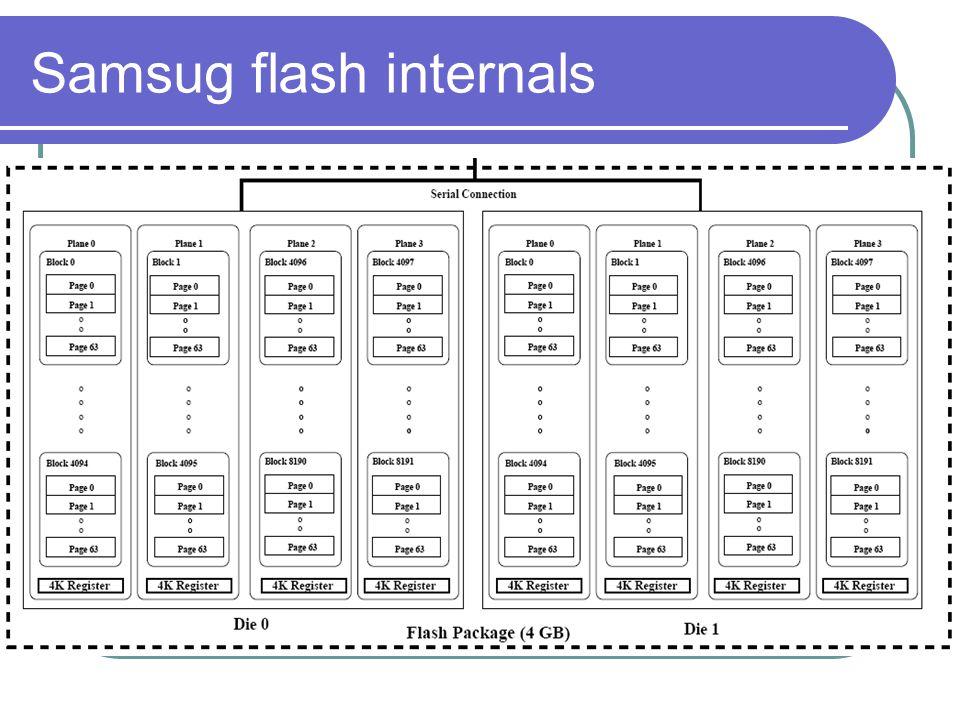 Samsug flash internals