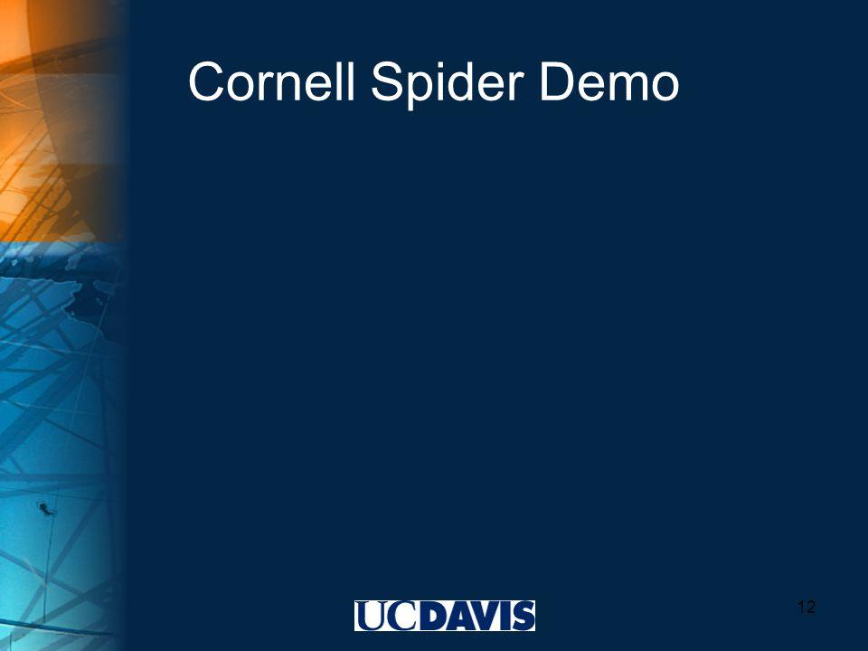 Cornell Spider Demo 12