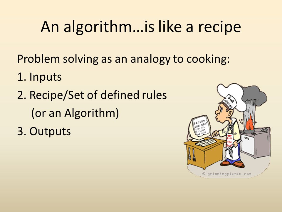 Now lets use algorithms… To solve Puzzles.