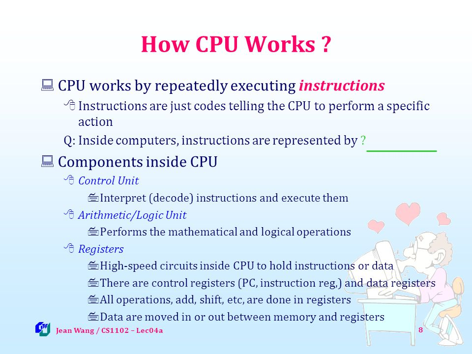8 How CPU Works .
