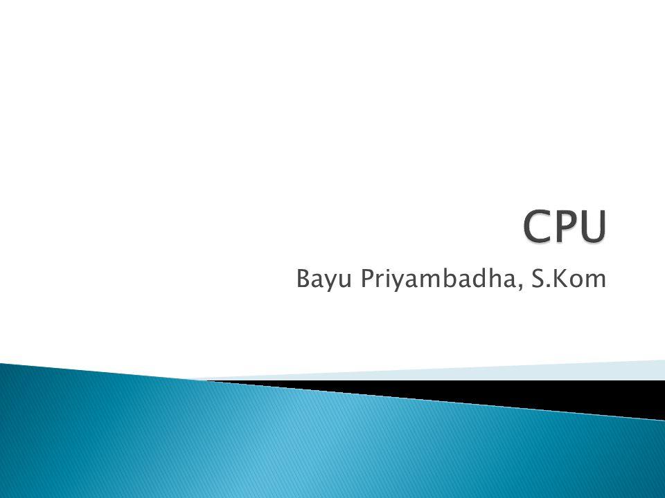 Bayu Priyambadha, S.Kom