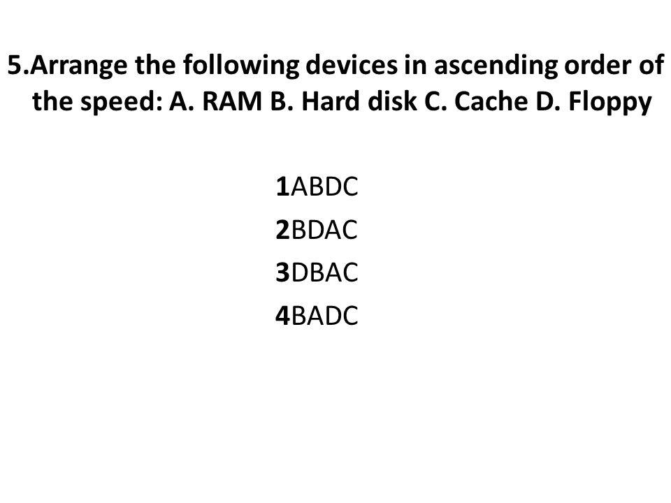 ANS:CPU