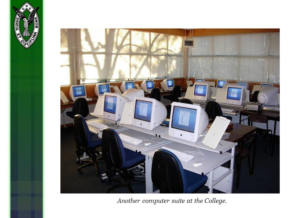 Another computer suite at the College.