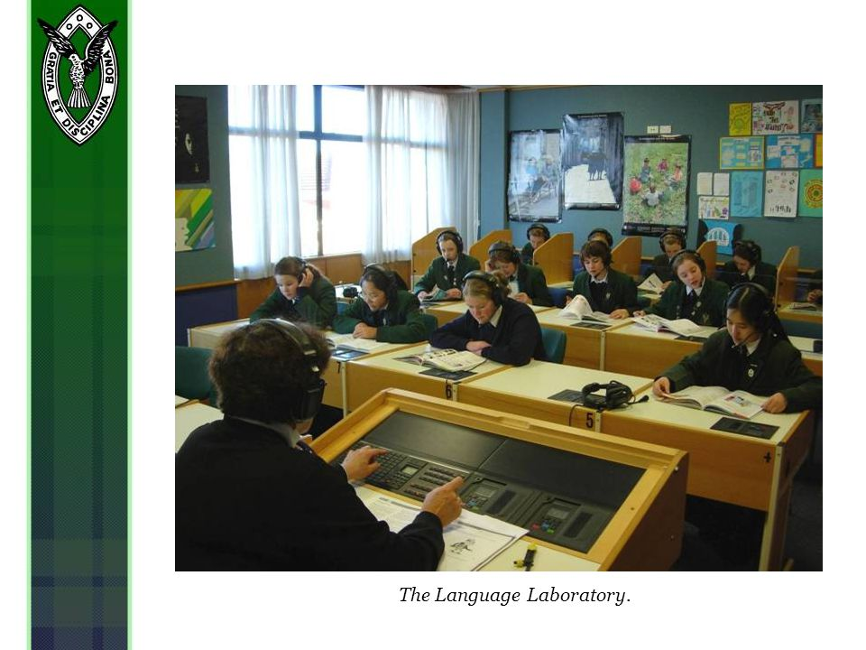 The Language Laboratory.