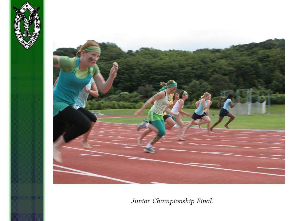 Junior Championship Final.
