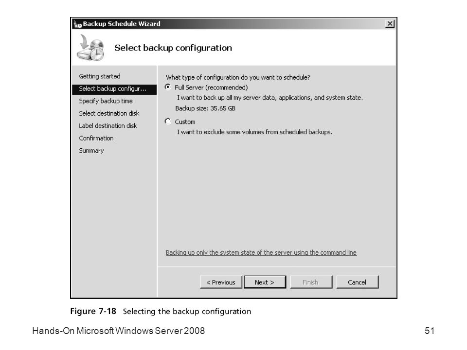 Hands-On Microsoft Windows Server 200851