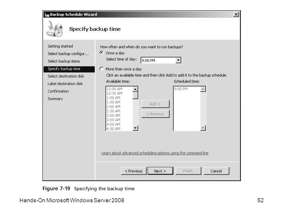 Hands-On Microsoft Windows Server 200852