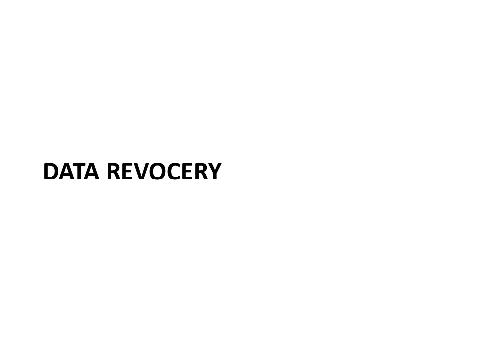 Need for data recovery If the decryption key is lost, encrypted files will be lost If Admin resets user password, EFS files cannot be read – Password reset and hacking tools have the same effect – User can change the password back to the old one – if remembered Backup files become unreadable if the users old (archived) private keys is lost – Can happen when rebuilding or cleaning user profile BitLocker risks: installing Linux boot loader, replacing the motherboard, TPM boot PIN forgotten or mistyped many times, moving disk to another computer Good idea to backup decryption keys
