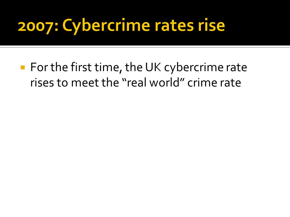 For the first time, the UK cybercrime rate rises to meet the real world crime rate