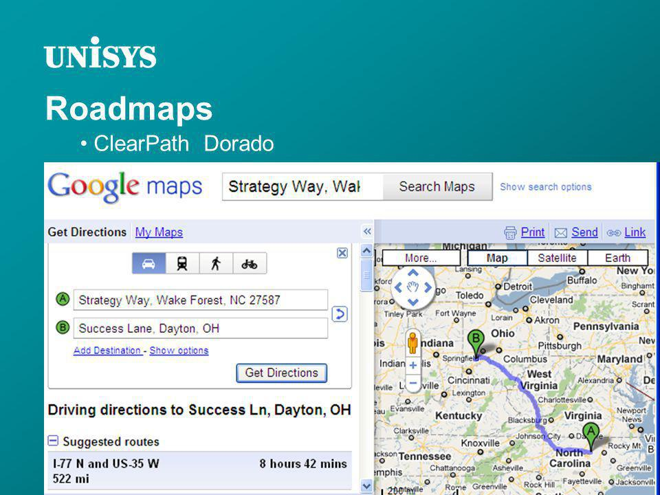 Roadmaps ClearPath Dorado