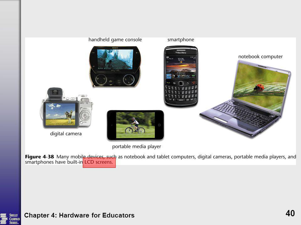 Chapter 4: Hardware for Educators 40