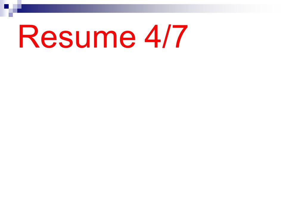Resume 4/7