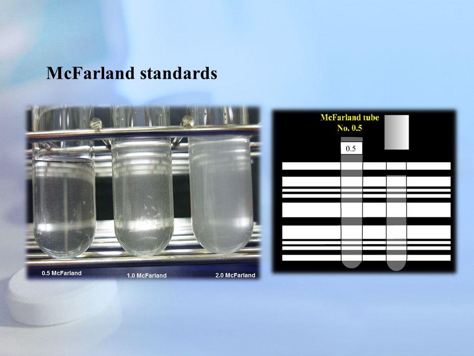 McFarland standards