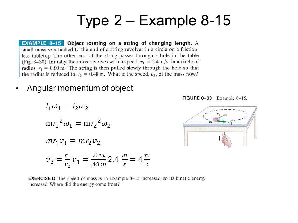 Type 2 – Example 8-15