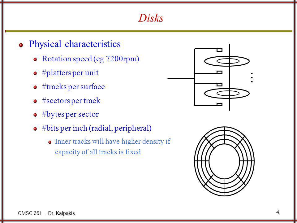 - Dr. Kalpakis CMSC 661 - Dr.